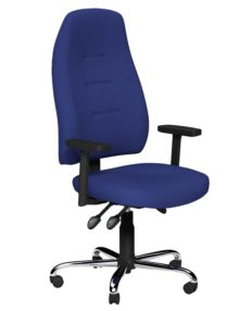 Blue Positura Ergonomic Office Chair