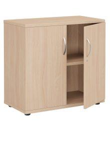 Beech 7700mm High Storage Cupboard
