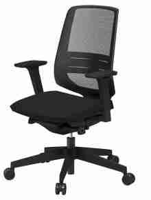 Light Up Mesh Operator Chair