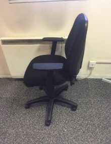Used Black OA Operator Chairs