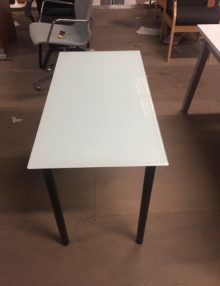 Used Glass Side Table