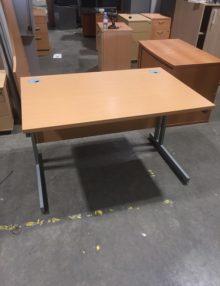 Used Mix Beech 1200mm Office Desks