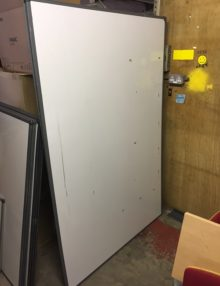 Used 5-Star 1800mm Drywipe Boards