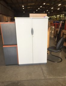 Used Grey Senator 1600m Storage Cupboard