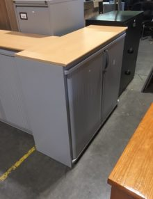 Used Steelcase Strafor 1020mm Tambour Cabinet
