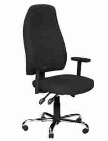 Black Positura Ergonomic Office Chair