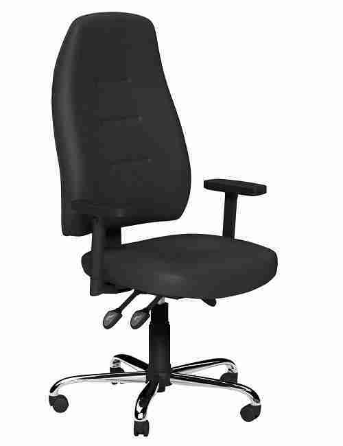 Faux Leather Positura Ergonomic Office Chairs