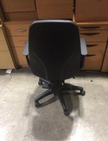 Used Black Fixed Arm OA Task Operator Chair