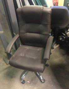 Used Brown Carina Executive Office Chair