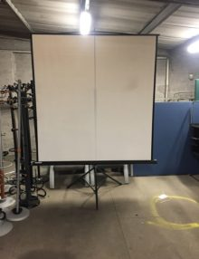 Used Standing Projector Screen