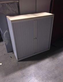 Used Bisley 1m Tambour Cabinet
