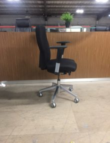 Used Connection Black IS Operator Chair