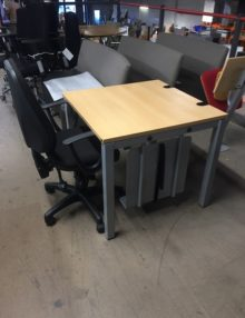 Used König + Neurath 1m Training Desk (2)
