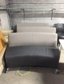 Used Orangebox Perimeter 2 Seater Sofa