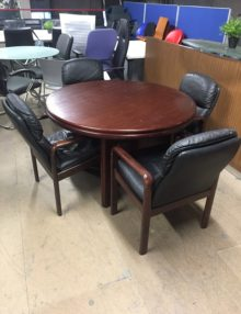 Used Dyrlund Meeting Set