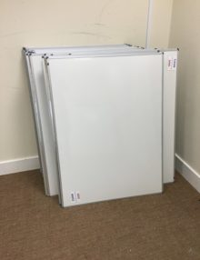 Used 1200mm Enamel Drywipe Board