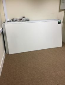 Used 2400mm Enamel Drywipe Boards