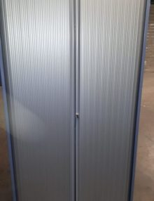 Used Bisley 2m Tambour Cabinet