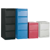 4 Drawer Colour Metal Filing Cabinet
