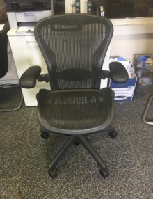 Used Herman Miller Aeron Ergonomic Office Chair (4)