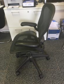 Used Herman Miller Aeron Ergonomic Office Chair (3)