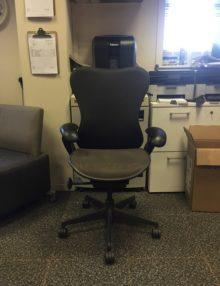 Used Herman Miller Mirra Ergonomic Office Chair- Contrast