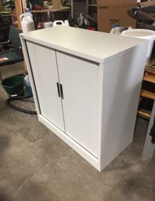 Used Go Steel 1016mm High Tambour Cabinet