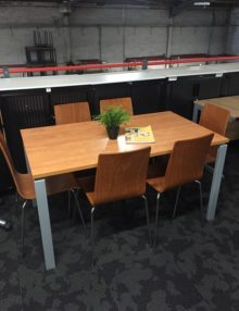 Used Cherry 1400mm Office Table