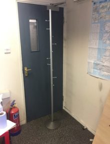 Used Chrome Coat Stand