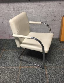 Used Vitra Visasoft Boardroom Chair - Clay Leather