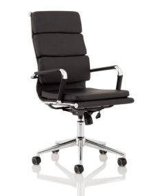 Hawkes Executive Soft Pad Office Chair - High Back
