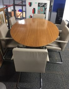 Used Florence Knoll Boardroom Set