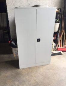 Used GoSteel 1525mm Metal Office Storage Cupboard