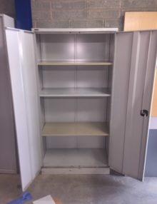 Used GoSteel 1800mm Metal Office Storage Cupboard