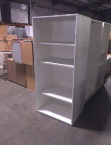 Used Techo White 1800mm Open Storage