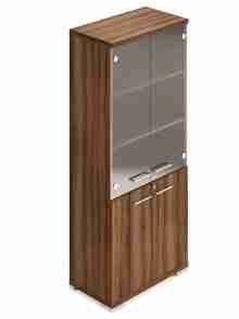 Legacy 1900mm Combination Storage Cupboard – Frosted Glass
