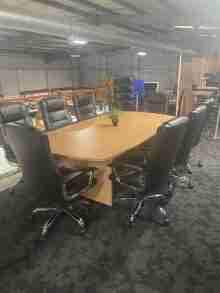 Beech Managerial Boardroom Package (2)