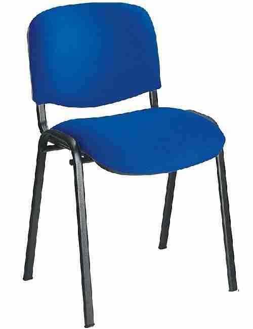 Blue Stackable Conference Chair