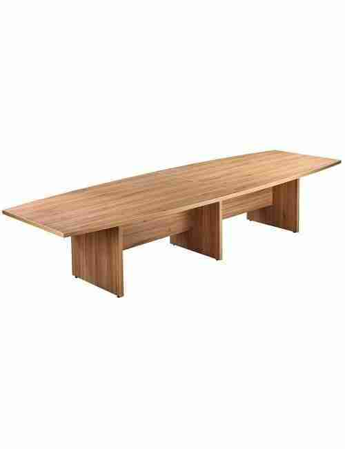 Executive Slab End Boardroom Table