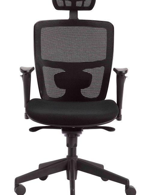 High Back Mesh Operator Chair