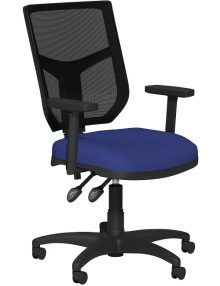 OA Mesh Operator Chair - Blue