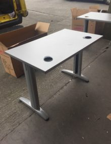 Used 1000mm Grey Office Desks