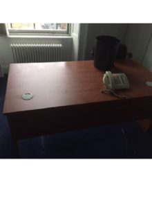 Used 1600mm Cherry Office Desk