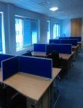Used Beech 1400mm Wave Desks