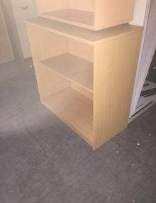 Used Beech 1m Bookcases