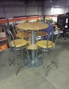 Used Round Bar Tables