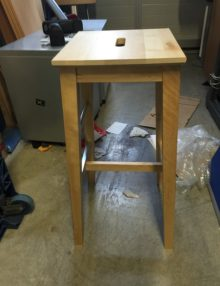Used birch boose stools