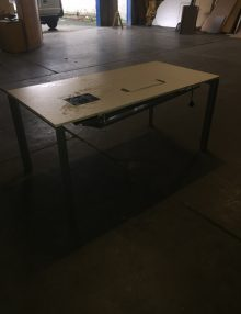 Used Cable Manage 1600mm Desk