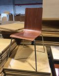 Used Cherry Bistro Chairs