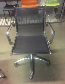 Used Eames Style Mesh Office Chairs (2)